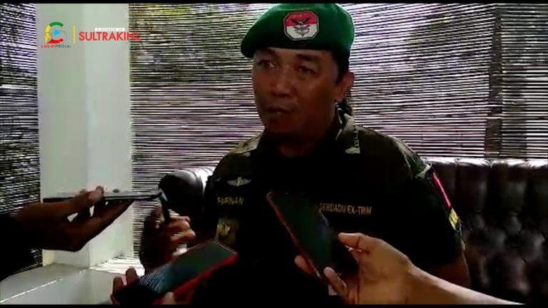 Serdadu Ex-Trim Sultra Dukung Suara di Pilkada Konsel