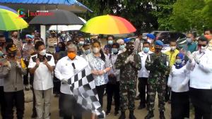 Ali Mazi Luncurkan Program Sultra Sejuta Masker Menuju Pilkada Aman dan Sehat
